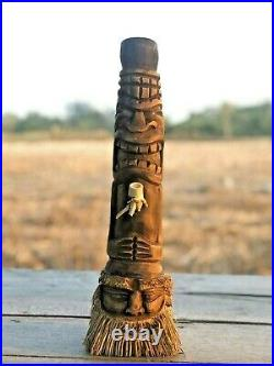 Hand Carved Bamboo Hookah Smoking Pipe