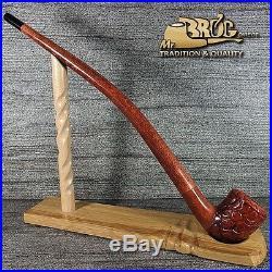 Hand made Mr. Brog original smoking pipe LOTR GANDALF Hobbit BILBO Ereg Cr