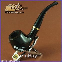Hand made Mr. Brog original smoking pipe nr. 82 Black CONSUL briar RARE