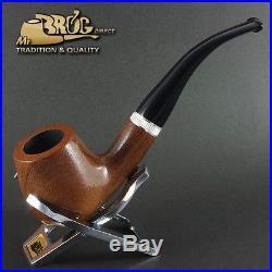 Hand made Mr. Brog original smoking pipe nr. 82 CONSUL mahogany smooth RARE