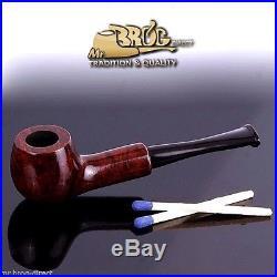 Hand made by Mr. Brog original MINI smoking pipe nr 50 brown HUANA