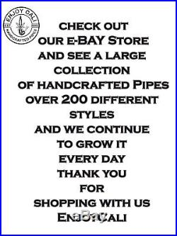 Handmade Tobacco Pipe Collectible Smoke functional New Medium Collection LOT36