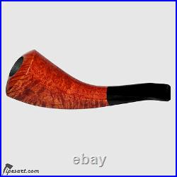 High Grade Smooth Horn Smoking Pipe By German Master Hahn-tobacco Pipe