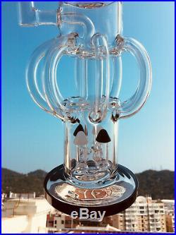 Hookah pipes ash catcher smoking big Glass bongs 17 large shisha pipes 18.8mm