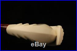 ITALIAN DESIGN Meerschaum Tobacco Pipe withCASE 1886 Pipa