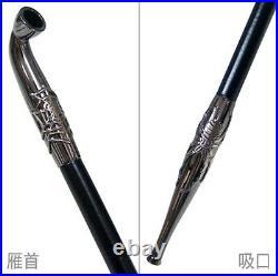 Japanese Samurai Kiseru Tobacco Smoking Pipe spider TSUGE Made in Japan
