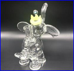 King Micro Elephant Wax Rig TOBACCO Smoking Glass Pipe Heady