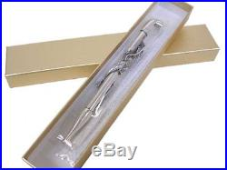 Luxury Kiseru Smoking Pipe Dragon Handmade in Japan Silver 10 Coating EMS F/S