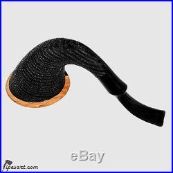 Luxury Morta Calabash Smoking Pipe Kit By Master Provenzano- 5 Cups Set Vip