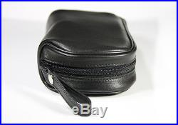 Martin Wess Germany Classic Lamm Leather Tobacco Pipe Bag Case +removable Pouch