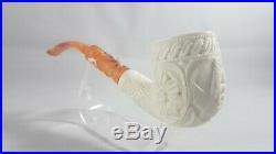 Mason pipe, smoking pipe, meerschaum pipe