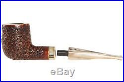 Mastro De Paja Cinque Terre 100 Tobacco Pipe Rustic Billiard
