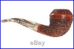 Mastro De Paja Cinque Terre 300 Tobacco Pipe Rustic Bent Rhodesian