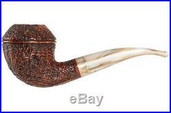 Mastro De Paja Cinque Terre 300 Tobacco Pipe Sandblast Bent Rhodesian