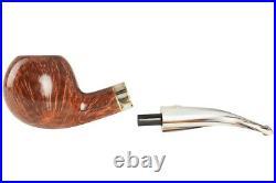 Mastro De Paja Cinque Terre 400 Tobacco Pipe Smooth Bent Apple