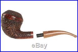 Mastro De Paja Pompei 300 Tobacco Pipe Rustic Bent Rhodesian