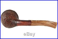 Mastro De Paja Pompei 300 Tobacco Pipe -Sandblast Bent Rhodesian