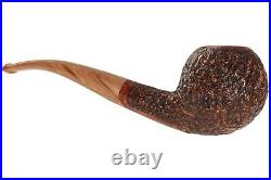 Mastro De Paja Pompei 400 Tobacco Pipe Rustic Bent Apple