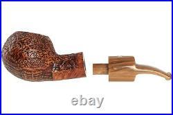 Mastro De Paja Pompei 500 Tobacco Pipe Sandblast Bent Author