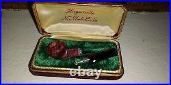 Miniature Kaywoodie 2 Salesman Sample Smoking Pipe In Case Never Used