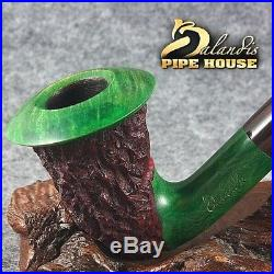 Mr. Balandis Original Briar Handmade Tobacco smoking pipe CALABASH Ho Ho Holiday