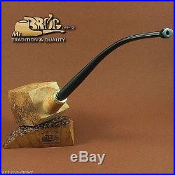 Mr. Brog Tobacco Pipe Briar Wood Block BBD Pre Drilled Beginner DIY Kit