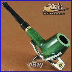 Mr. Brog original HAND MADE smoking pipe nr 30 green classic DUBLIN