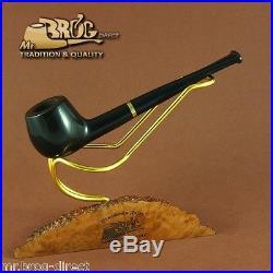 Mr. Brog original SMALL smoking pipe nr. 29 black -straight stem CARO HAND MADE