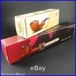 Mr. Brog original smoking pipe Rock`n`Roll Brown classic Hand made