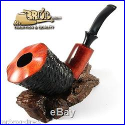 Mr. Brog original smoking pipe XL teak SW carved GIANT HAND MADE in EUROPE
