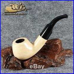 Mr. Brog original smoking pipe nr. 41 natural unique pattern TOBACCOS HAND MADE
