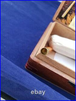 NEVER SMOKED Antique Smoking Pipe Orange Cigarette Cheroot Cigar Holder Turkey
