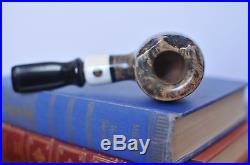 NEW GLADSTONE PIPE Handmade Billiard Tobacco Pipe Custom Freehand Semi Plateau