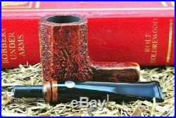 NEW Mastro De Paja CLASSICA Briar Tobacco Pipe Gorgeous Straight 8 Panel Blast