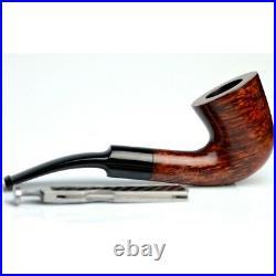 NEW Pipa Smoking pipe PFEIFE Dunhill Bent Dublin Amber Root DPA 4214 England
