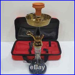Narghila Set Hookah 1 Hose Smoking Nargila Glass Water Pipe Complete Personal