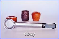New Old Stock 3 Inter-Changeable Bowls Kaywoodie Tobacco Smoking pipe