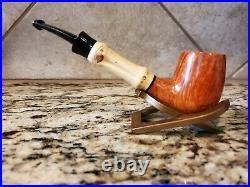 New TSUGE Bamboo Smoking Pipe Tobacco
