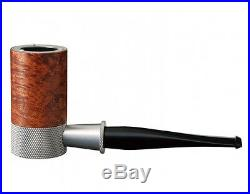 New TSUGE Metal Pipe G9 The Roulette Briar Smooth 131mm Smoking Pipe