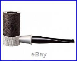 New TSUGE Metal Pipe G9 The Roulette Briar Snad Blast 131mm Smoking Pipe