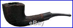 New TSUGE Pipe MIZKI 943 Sand Blast Plateau made 135mm Smoking Pipe Ebonite