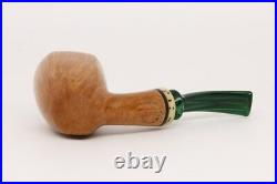 Nording Extra Smooth Self Sitter Briar Smoking Pipe with pouch B1109