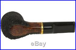 OMS Pipes Billiard Tobacco Pipe Brass Band
