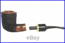 OMS Pipes KT209 Dublin Fieldmaster Tobacco Pipe Brass Band