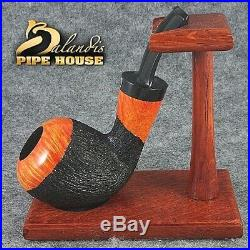 ORIGINAL TOBACCO SMOKING PIPE HANDMADE H. WOROBIEC nr. 127 COUCH POTATO teak