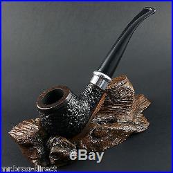 OUTSTANDING HAND MADE Mr. Brog original smoking pipe nr. 85 brown carved SCHMIDT