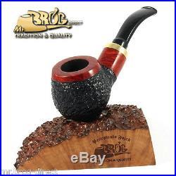 OUTSTANDING Hand made Mr. Brog original small smoking pipe nr. 132 muem RUBEL