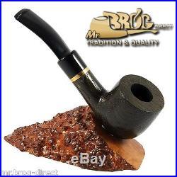 OUTSTANDING Hand made Mr. Brog original smoking pipe nr. 12 BOG OAK MORTA