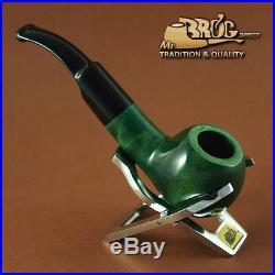OUTSTANDING Hand made Mr. Brog original smoking pipe nr. 23 green KNOLLE