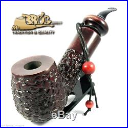 OUTSTANDING Mr. Brog original BIG smoking pipe QUBRYC Limited SNAKE SKIN